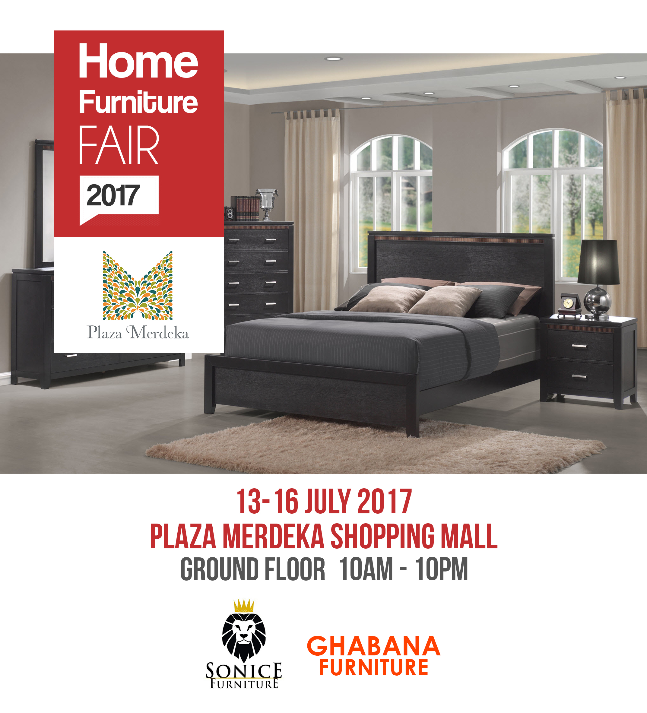 Home Furniture Fair 2017 13 16 July Ug Plaza Merdeka